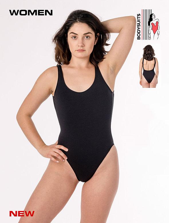 Ctn Spndx Malibu Bodysuit
