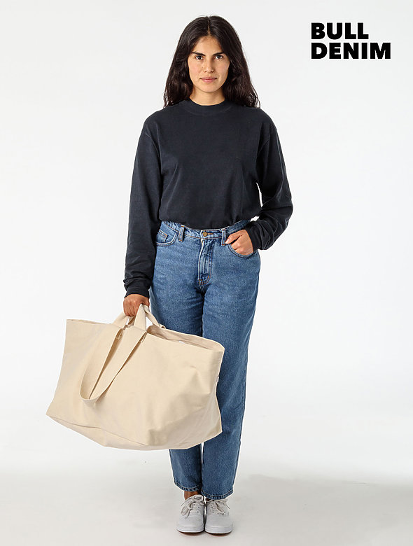 Oversize Bull Denim Bag