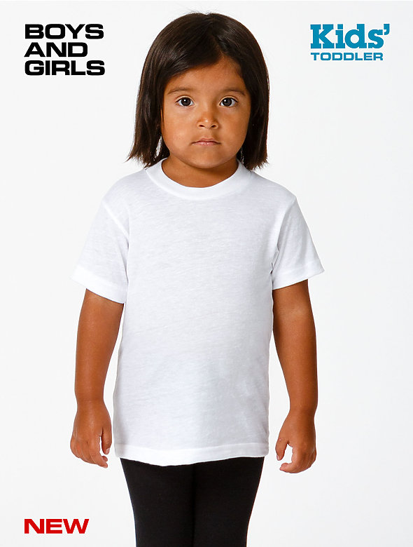 Toddler Poly Cotton S/S T-Shirt