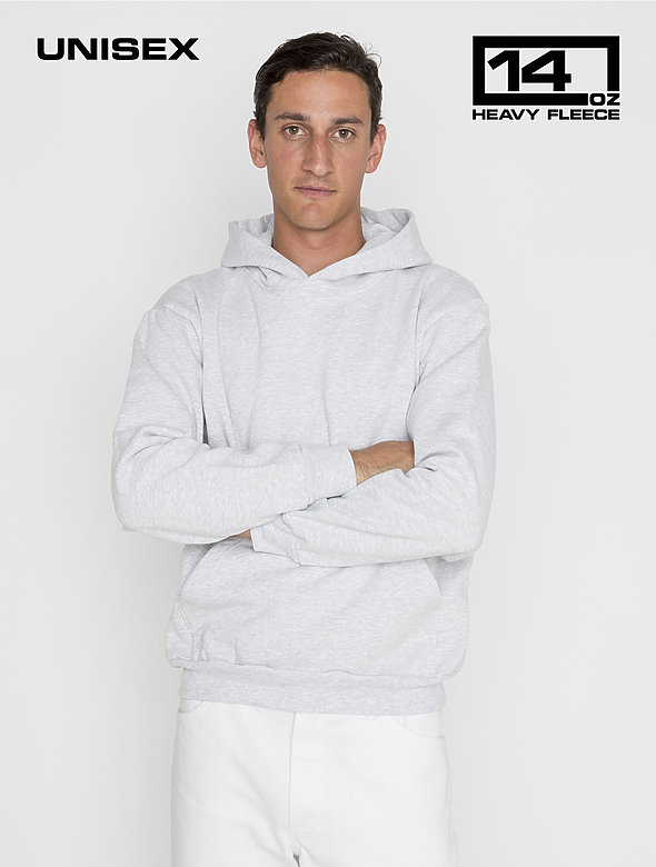 L/S Heavy Fleece Hood PO 14oz